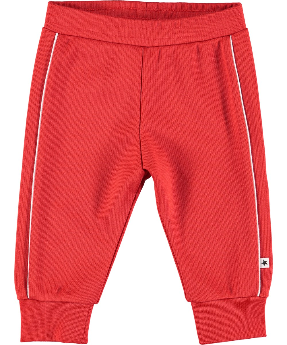 Sid - Heart - Røde baby sweatpants
