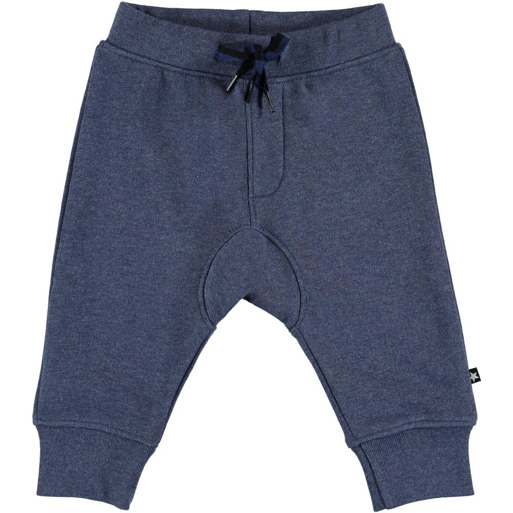 Stan - Infinity Melange - Bæå baby sweatpants.