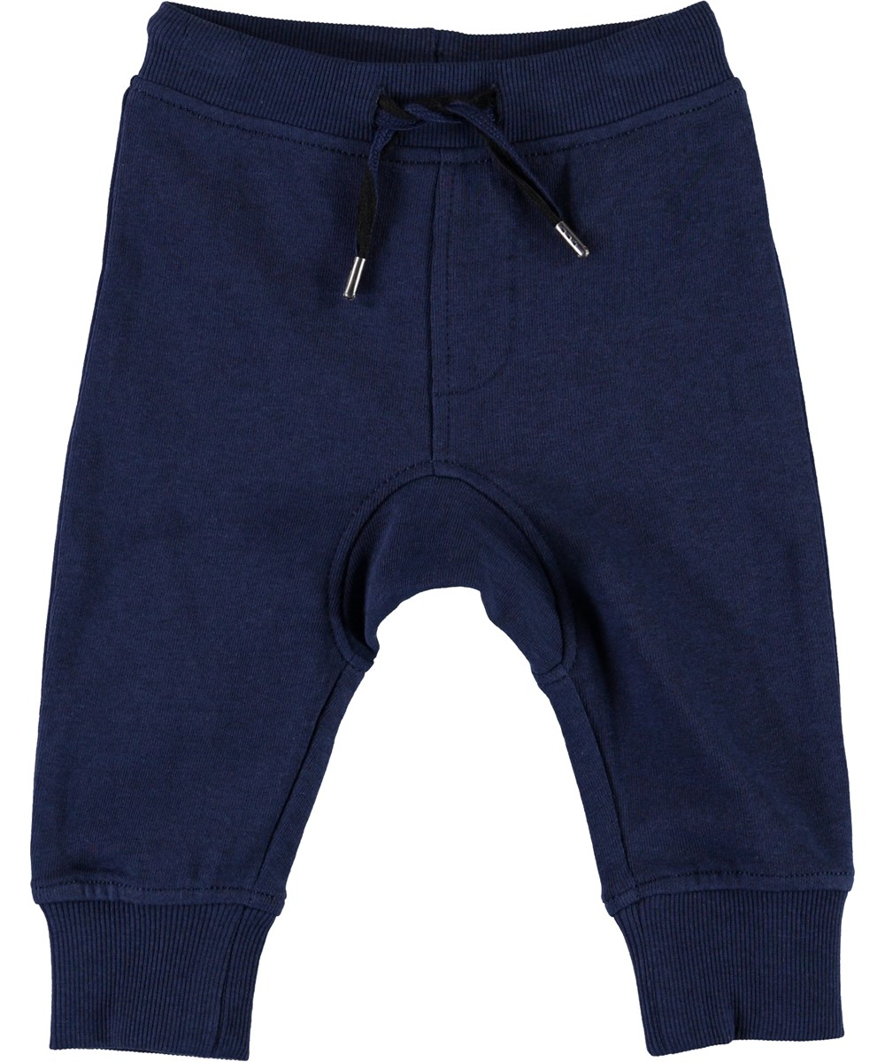 Stan - Sailor - Blå baby sweatpants