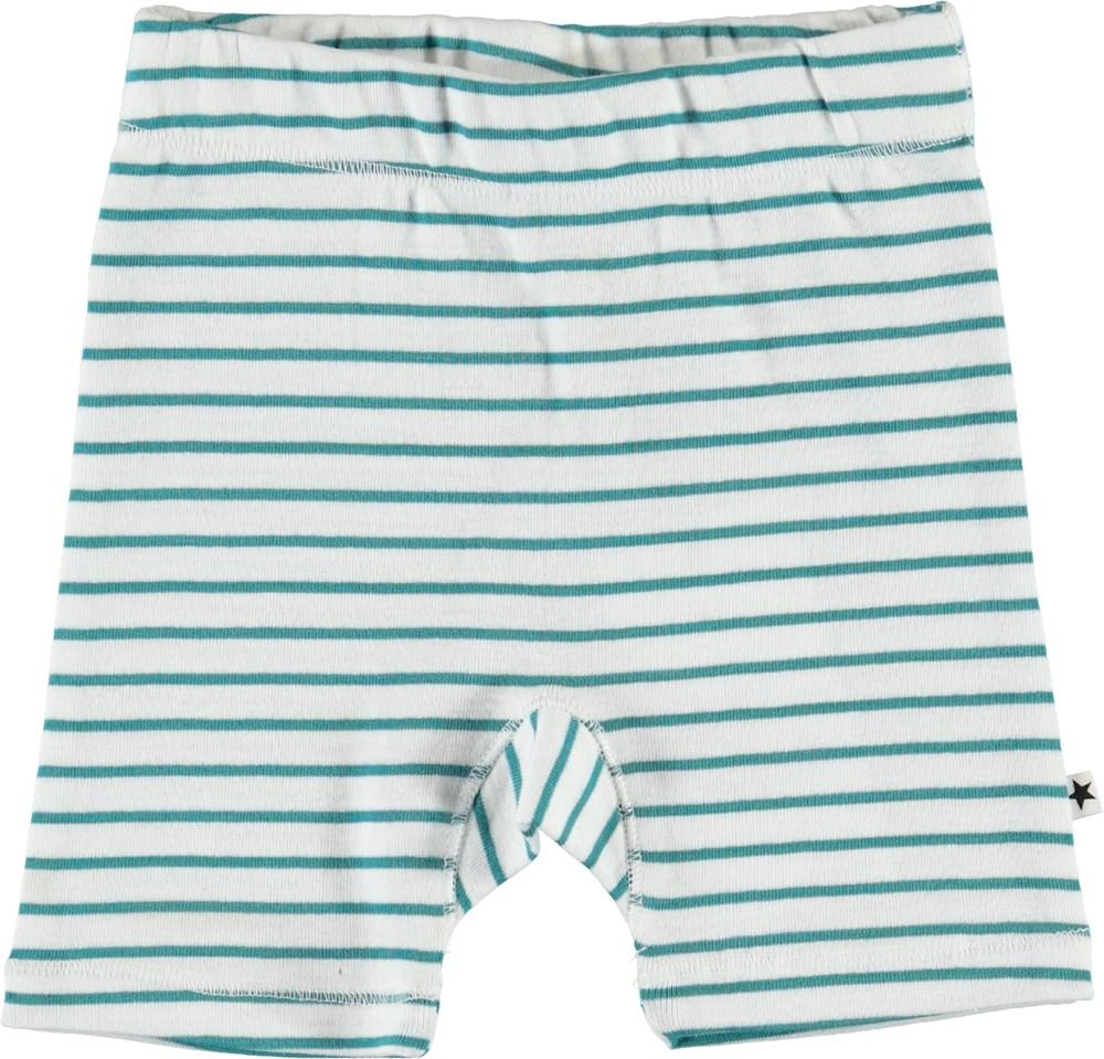 Sebbo - Kerosene Stripe - Økologiske stribede baby shorts