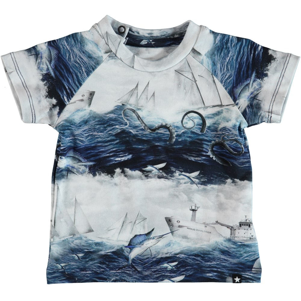Emmett - Sailor Stripe - Baby T-Shirt