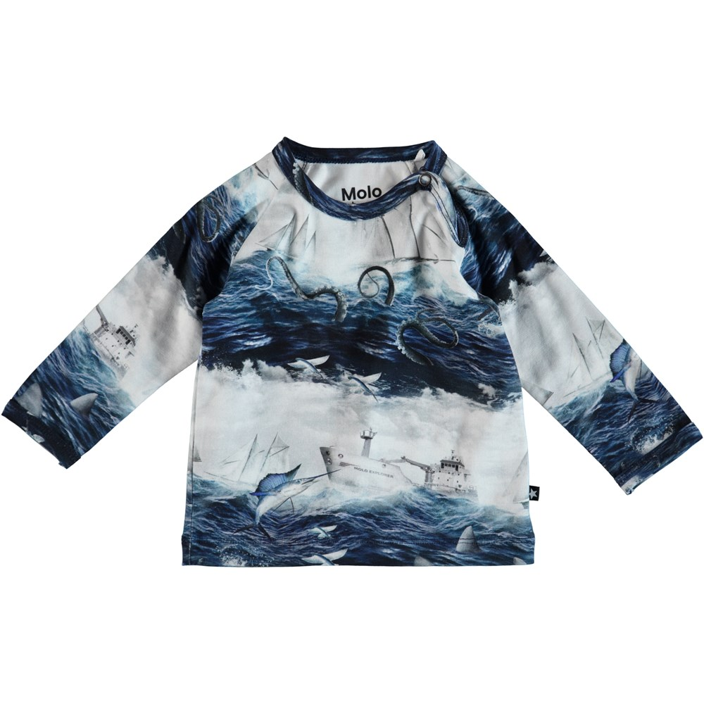 Ewald - Sailor Stripe - Baby Bluse