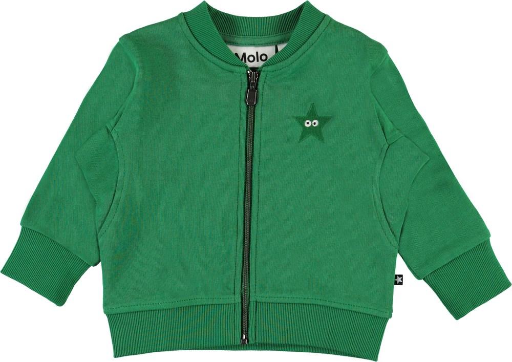 Derek - Jungle - Grøn baby sweatshirt