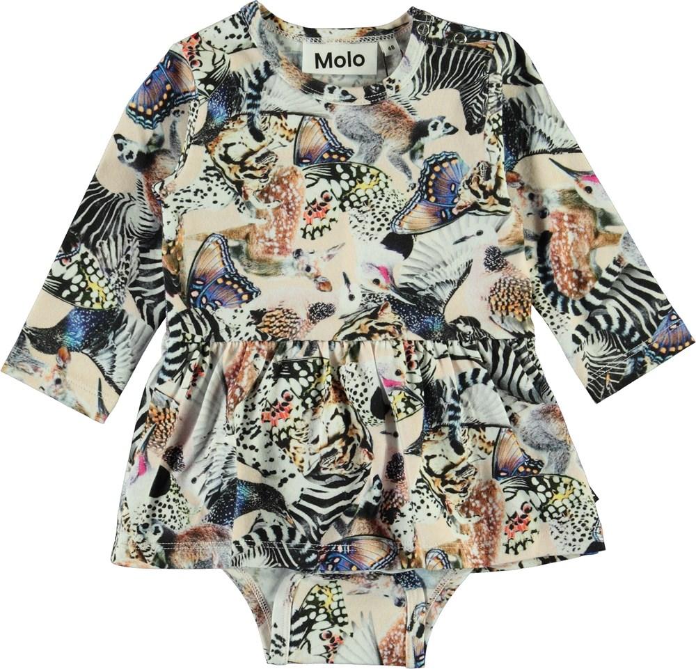 Frances - Twister - Babybody med djur