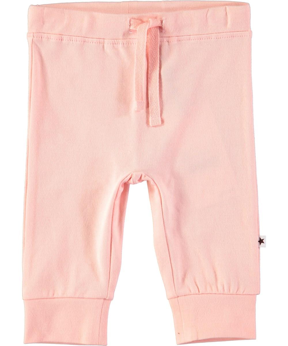 Selena - Dawn - Puderfärgade baby byxor med knytband