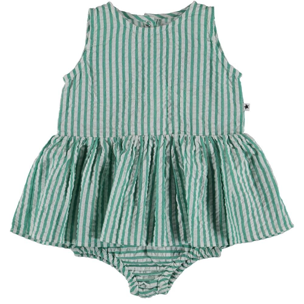 Cloudia - Green Stripe - Baby Body