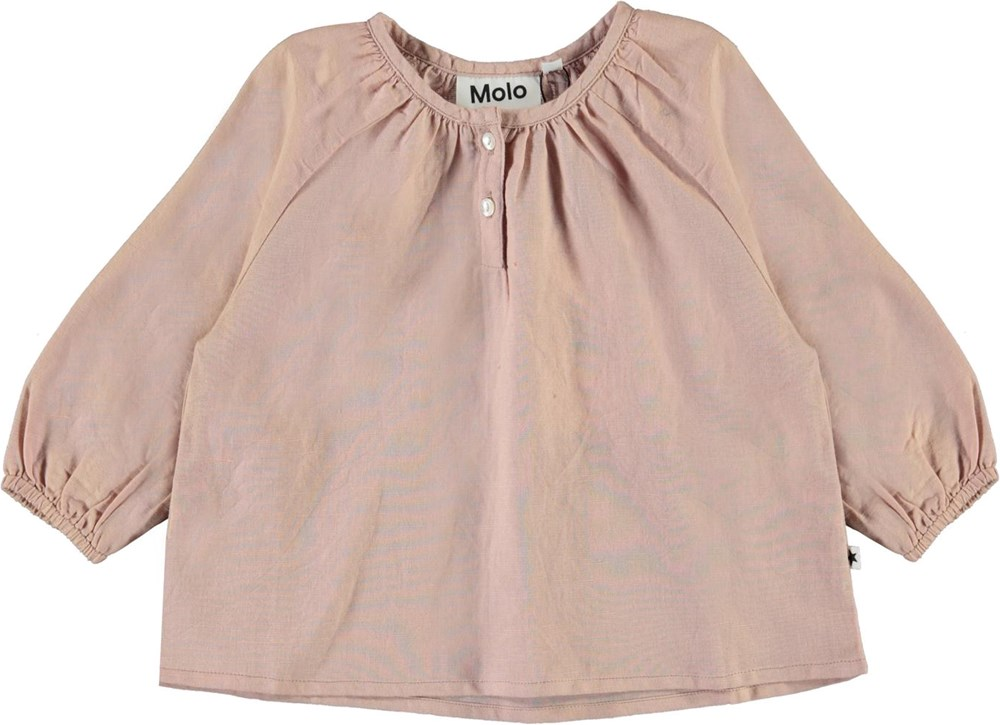 Rosemary - Petal Blush - Rosa baby skjortblus