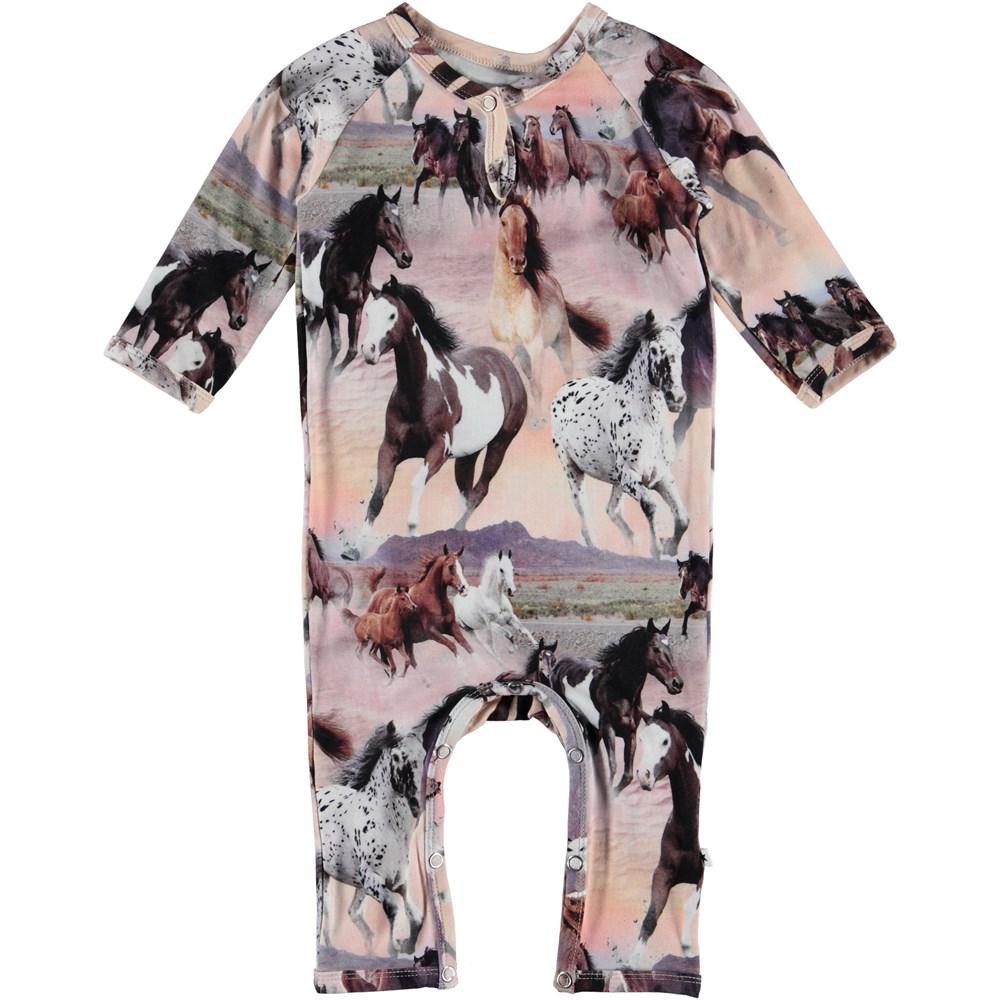 Fiona - Wild Horses - Baby Romper