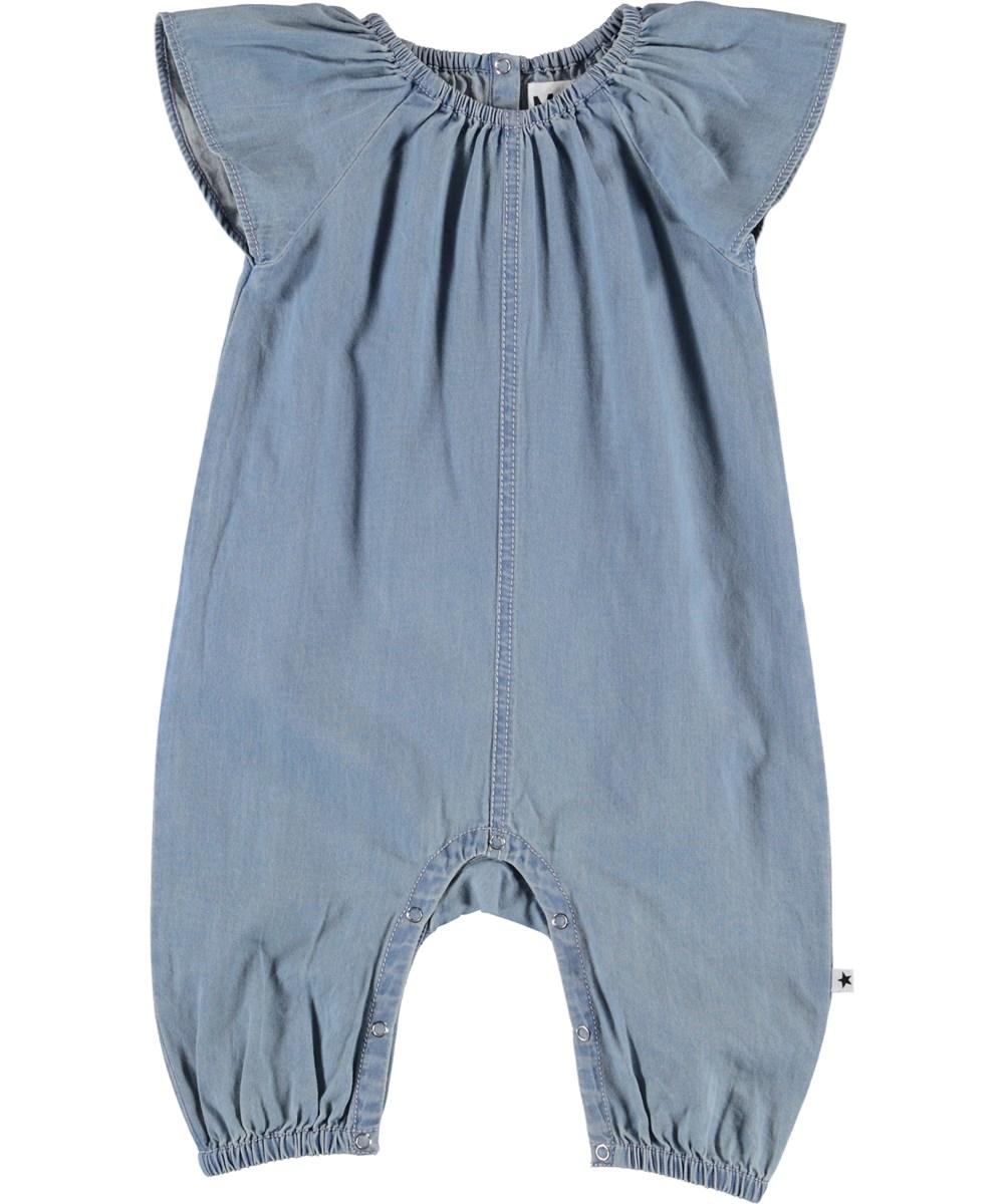 Florina - Summer Wash Indigo - Baby denim suit