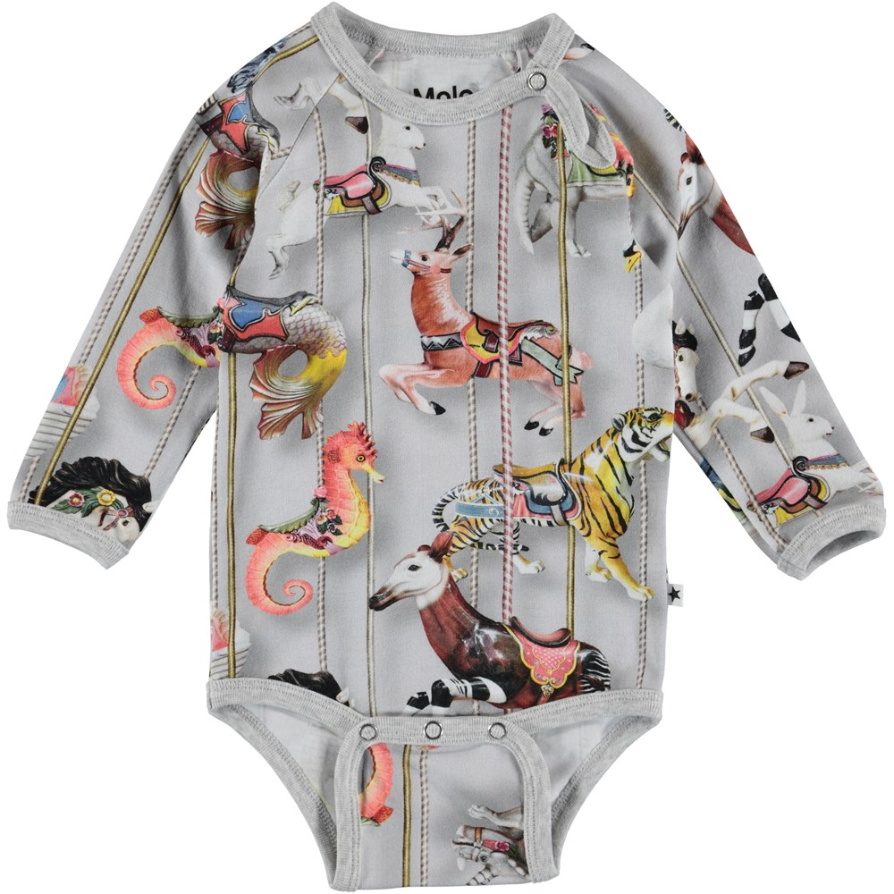 Fonda - Carousel - Baby Bodysuit