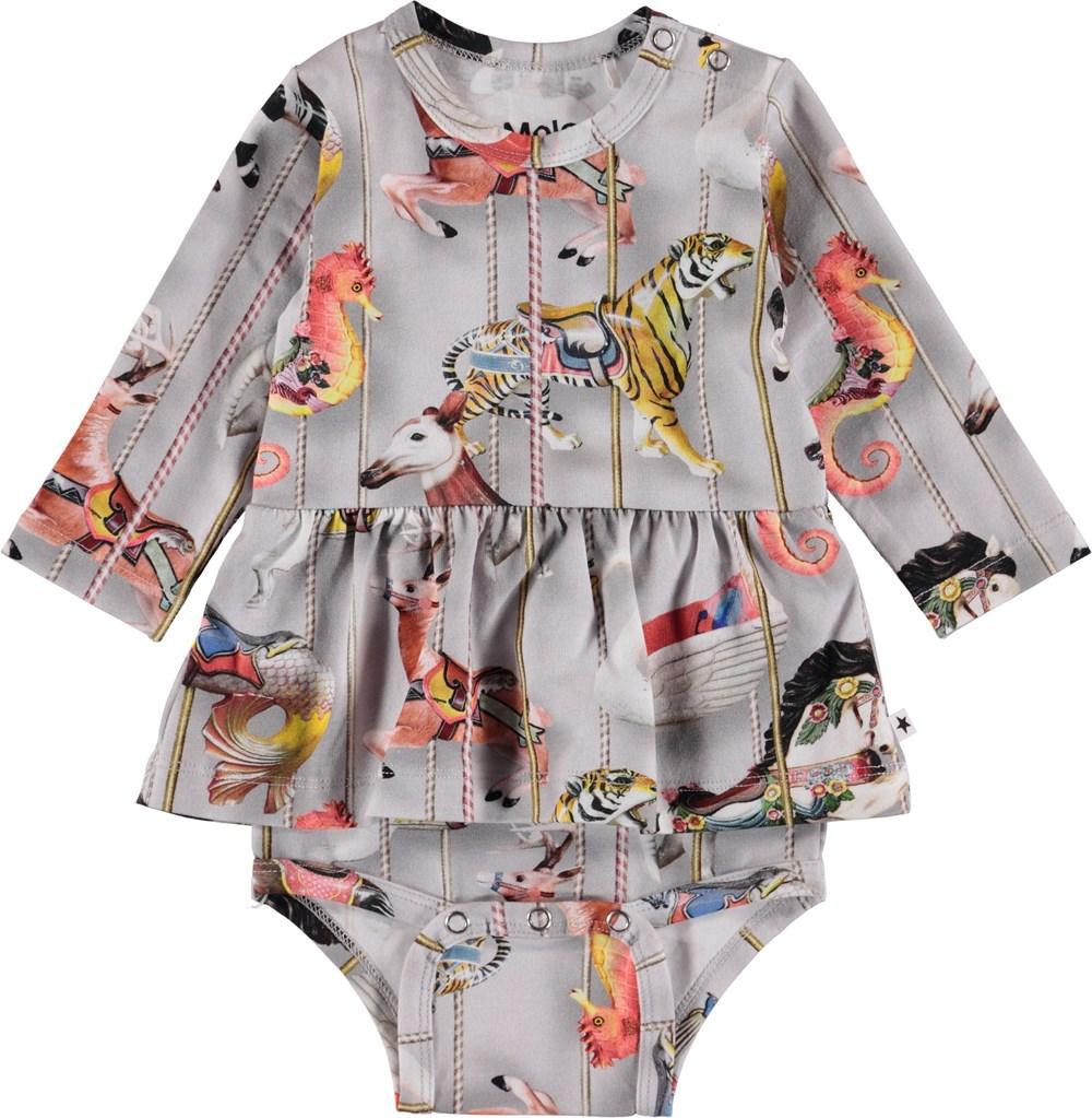Frances - Carousel - Baby Bodysuit