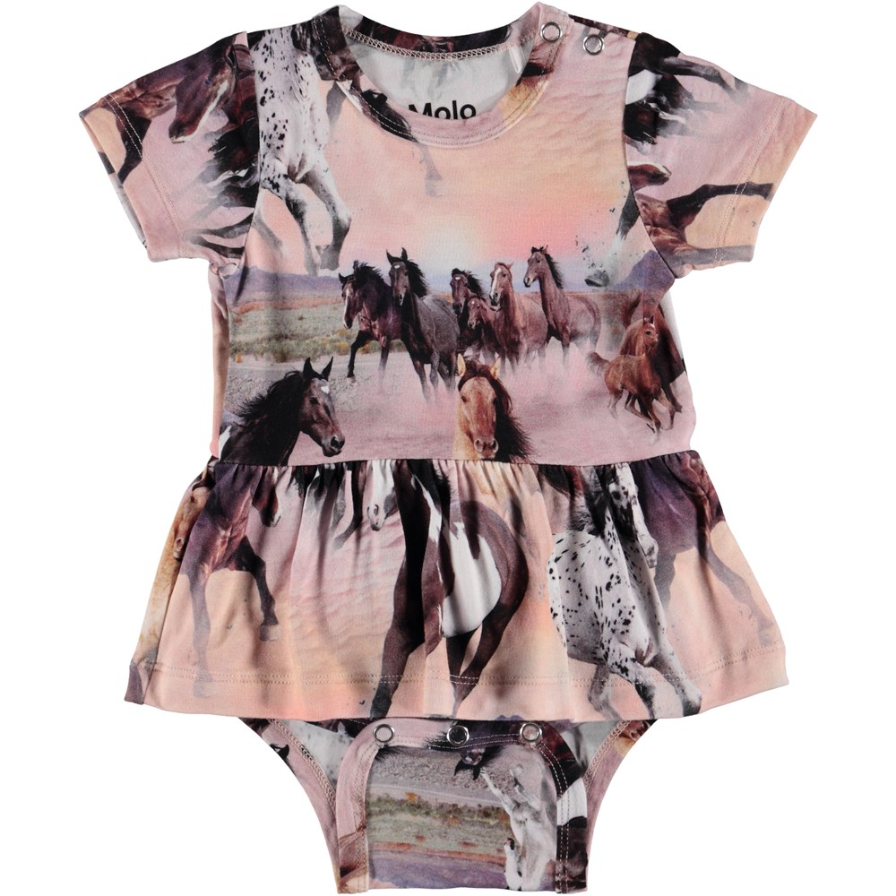 Frannie - Wild Horses - Baby Bodysuit