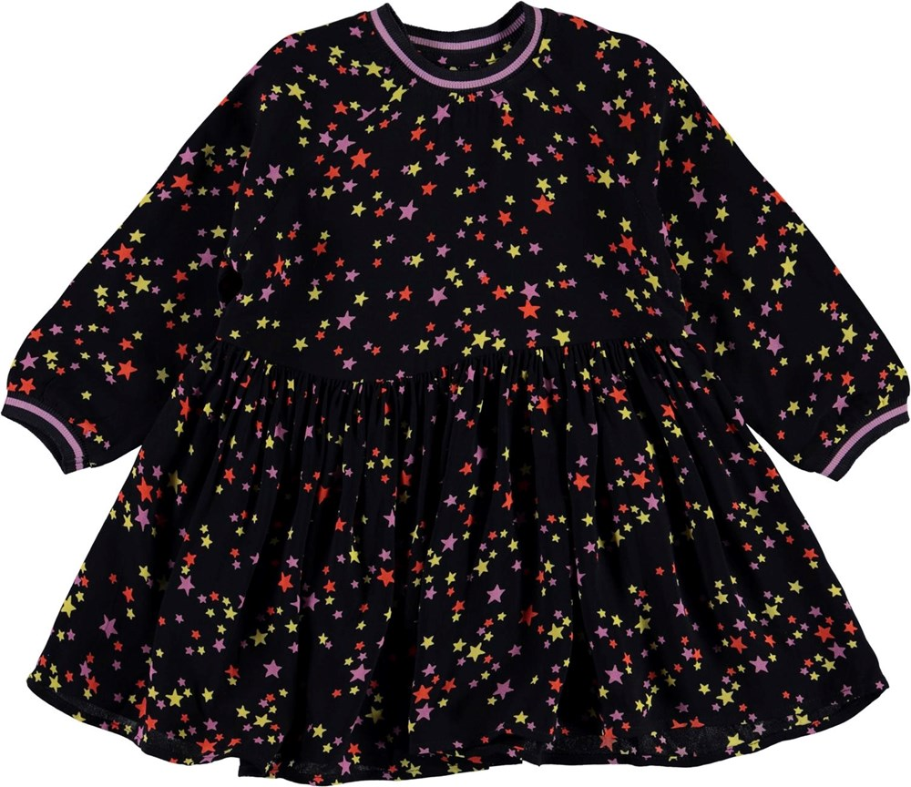 Camille - Starry Sky - Black dress with stars