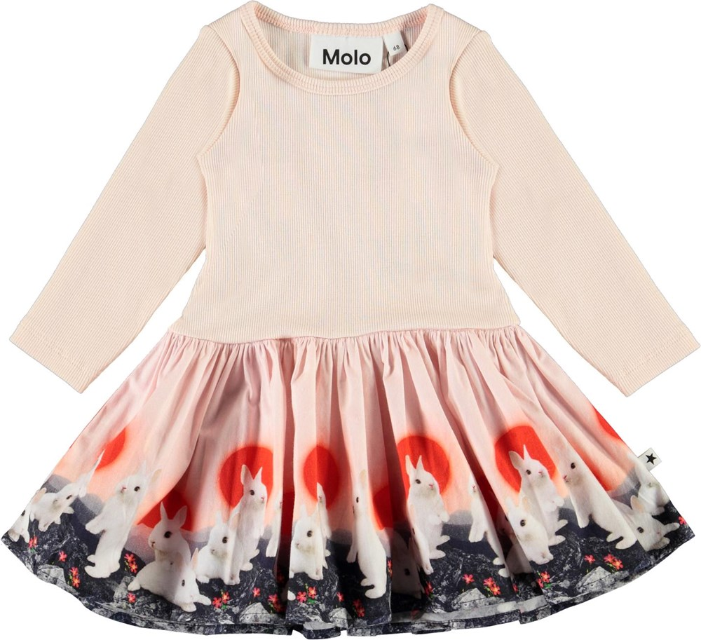 Candi - Baby Bunnies - Organic two-part dress with bunnies