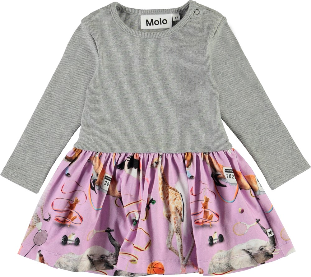 Carel - Made For Motion - Organic baby dress in two parts
