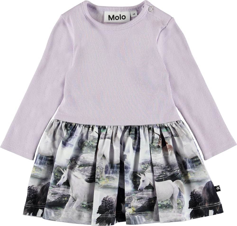 Carel - Mythical Creatures - Baby top with unicorns.
