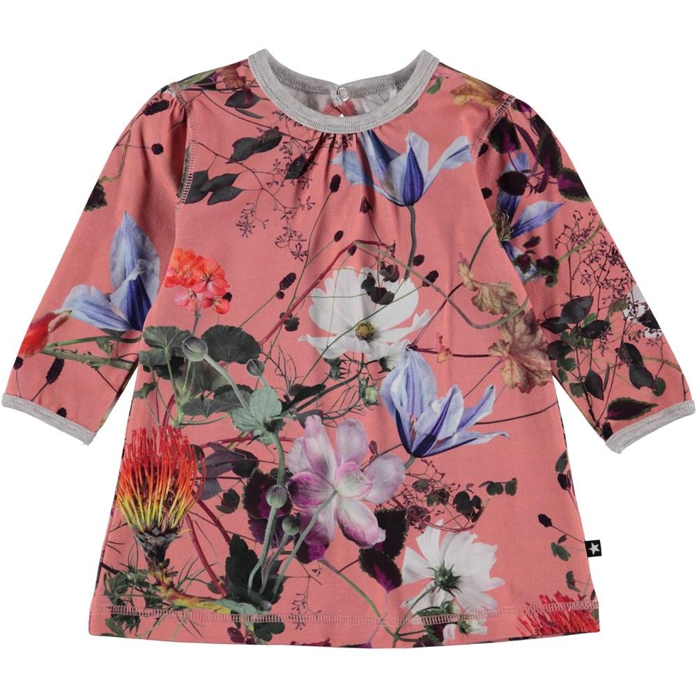 Caroline - Flowers Of The World - Flower baby dress.