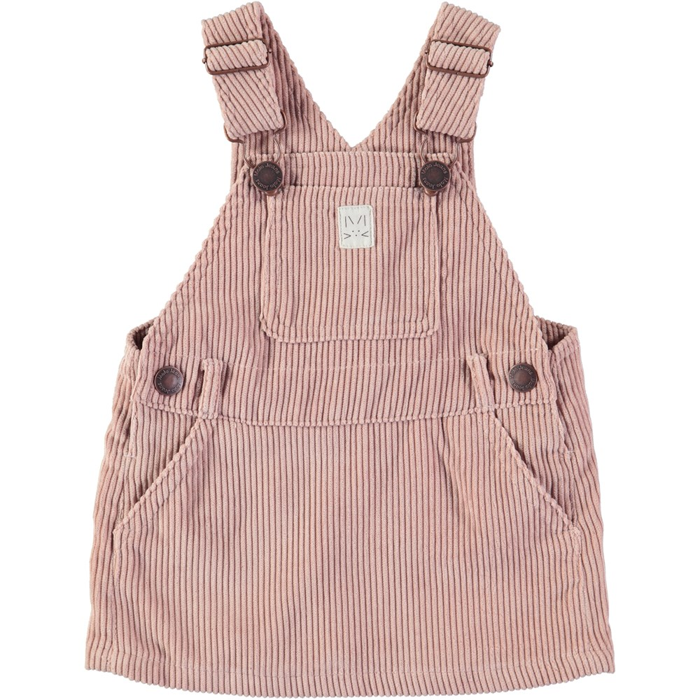 Ciana - Dusty Pink - Baby spencer in dark rose corduroy