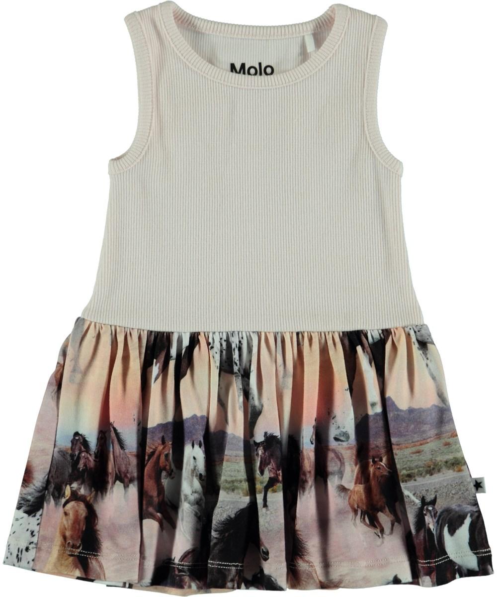 Como - Wild Horses - Baby Dress - Carousel