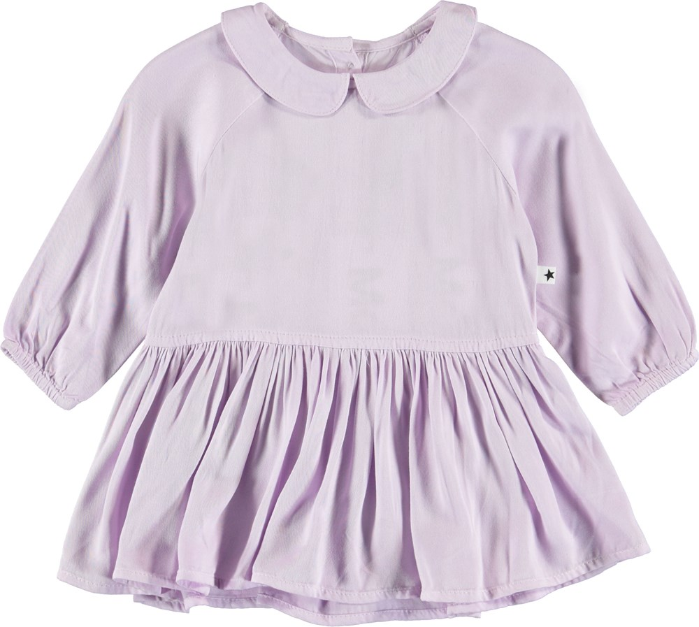 Crystala - Frozen Lilac - Purple baby dress.