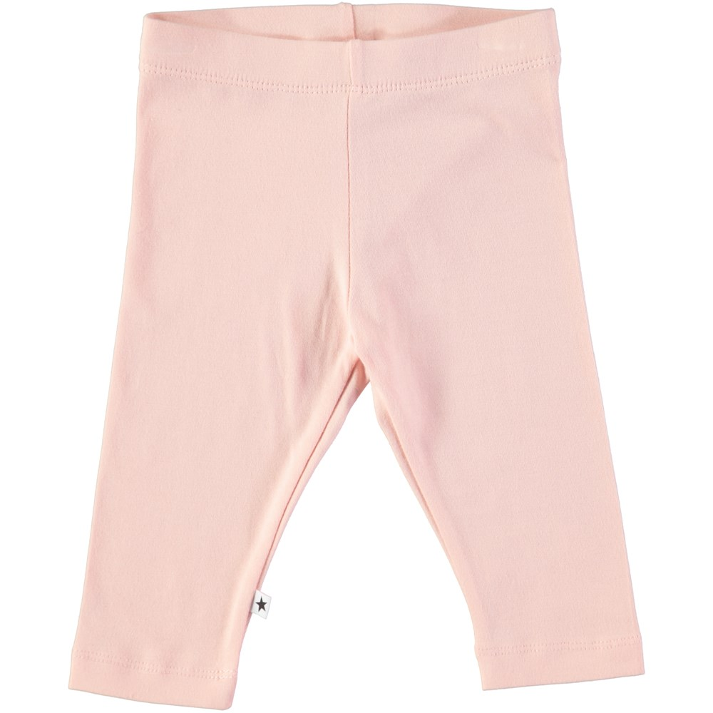 Nette solid - Dawn - Powder coloured baby leggings