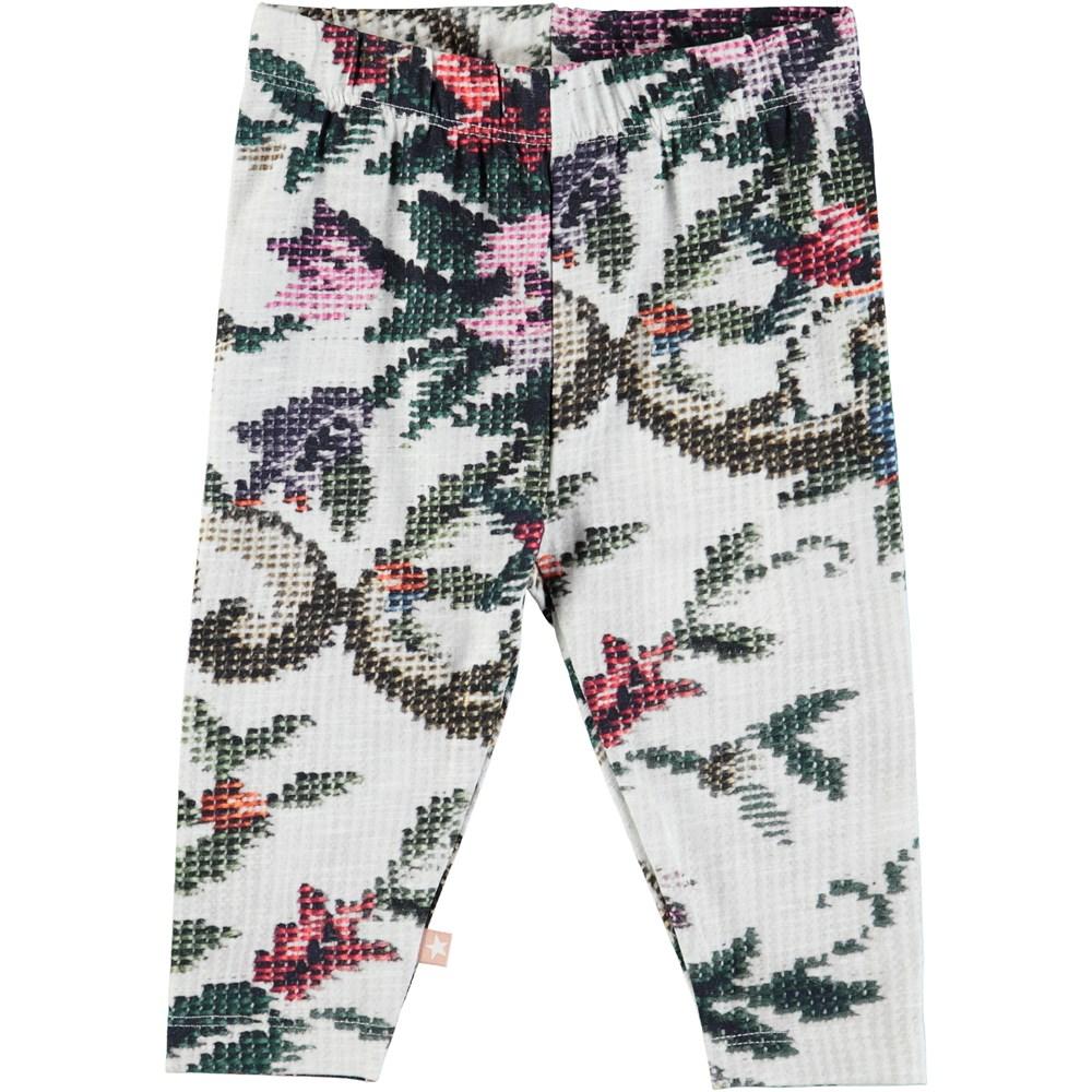 Stefanie - Cross Stitch - Baby leggings with digital cross stitch print