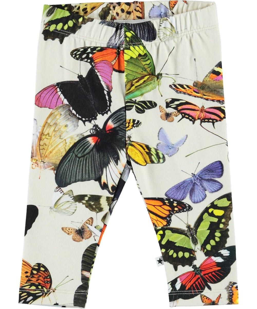 Stefanie - Papillon - Organic baby leggings with butterflies