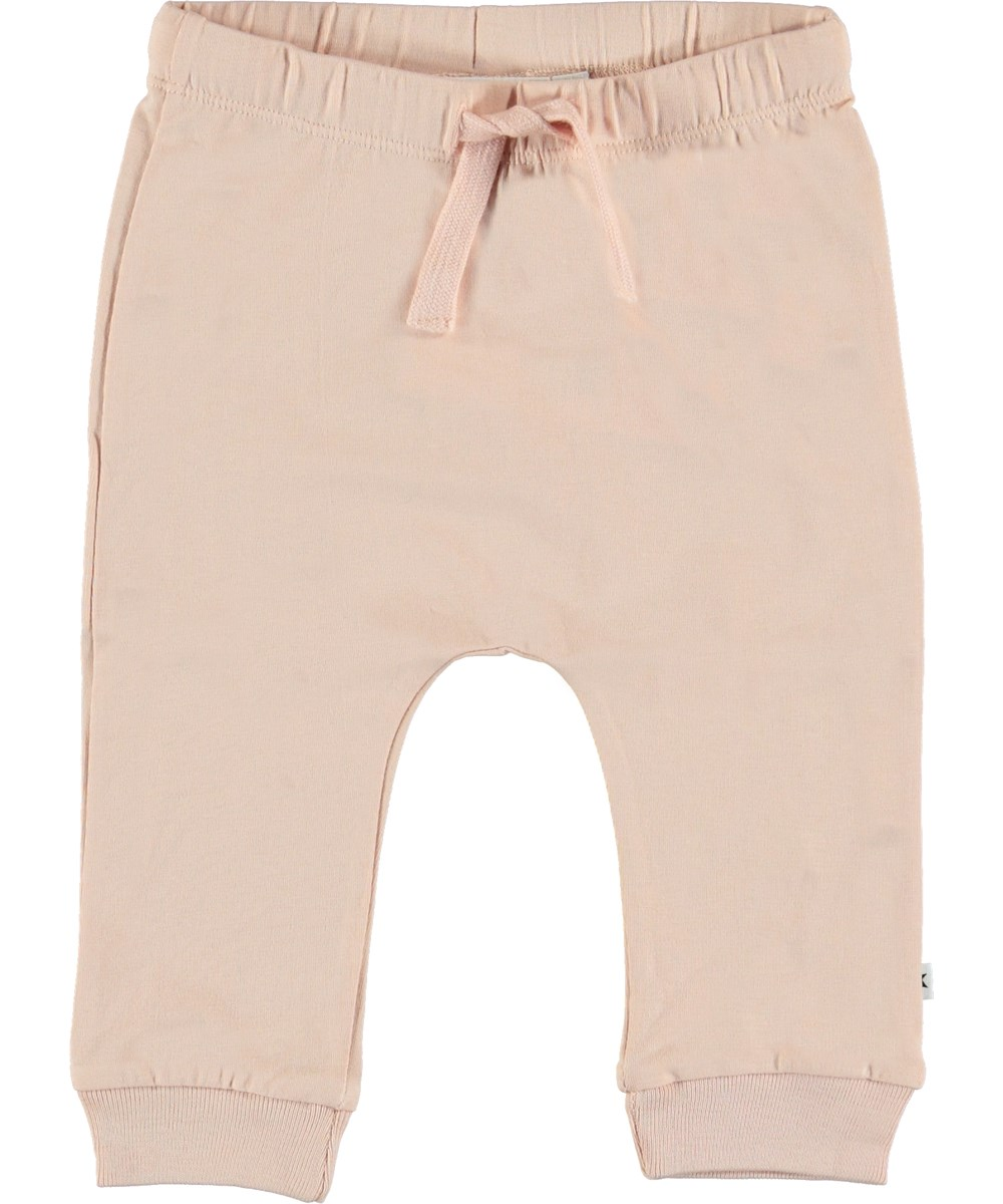 Sille - Cameo Rose - Rose baby trousers.