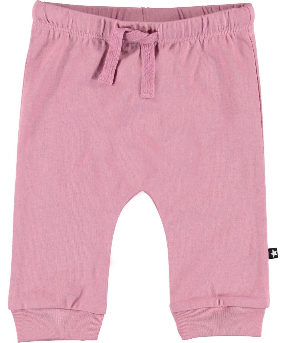 Sille - Purple Haze - Rose baby trousers.