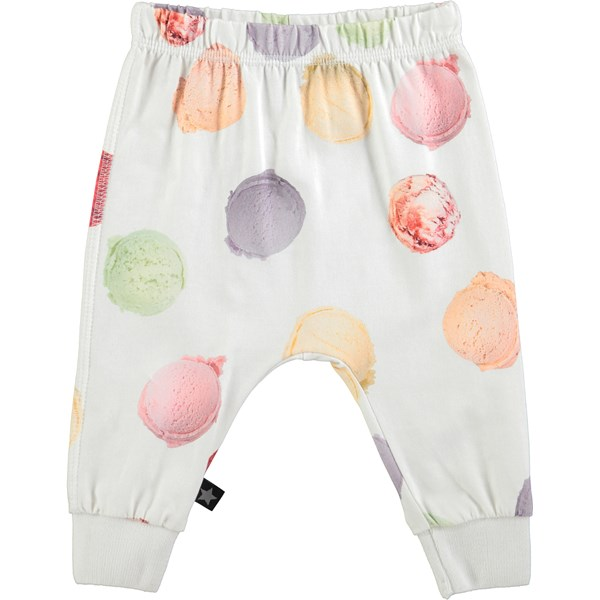 514e6b9104c Simone - Woof Woof - baby pull on trousers with dogs - Molo