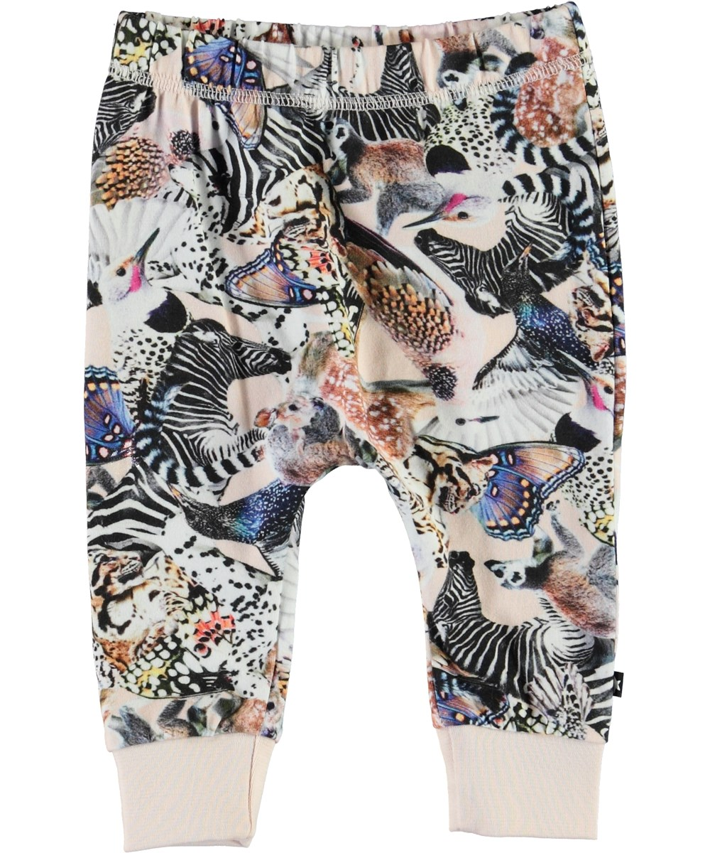 Simone - Twister - Baby trousers with animal print