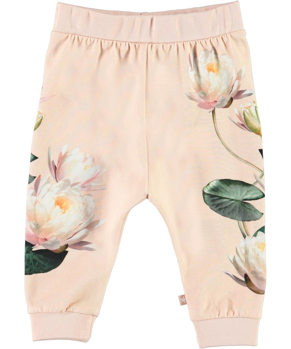 Susanne - Water Lily Foal - Organic baby trousers with foal and water lilies