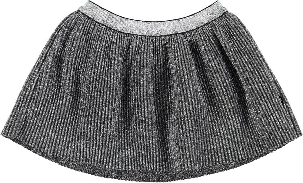 Brina - Silver - Baby girl tulle skirt