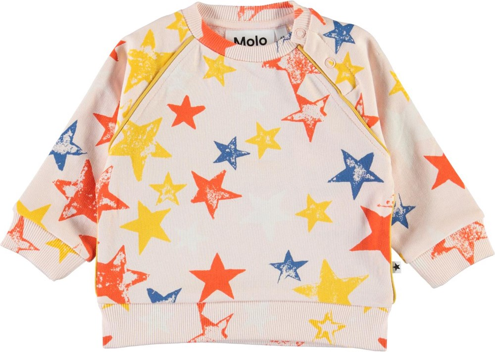 Dicte - Super Stars - Organic baby top with stars
