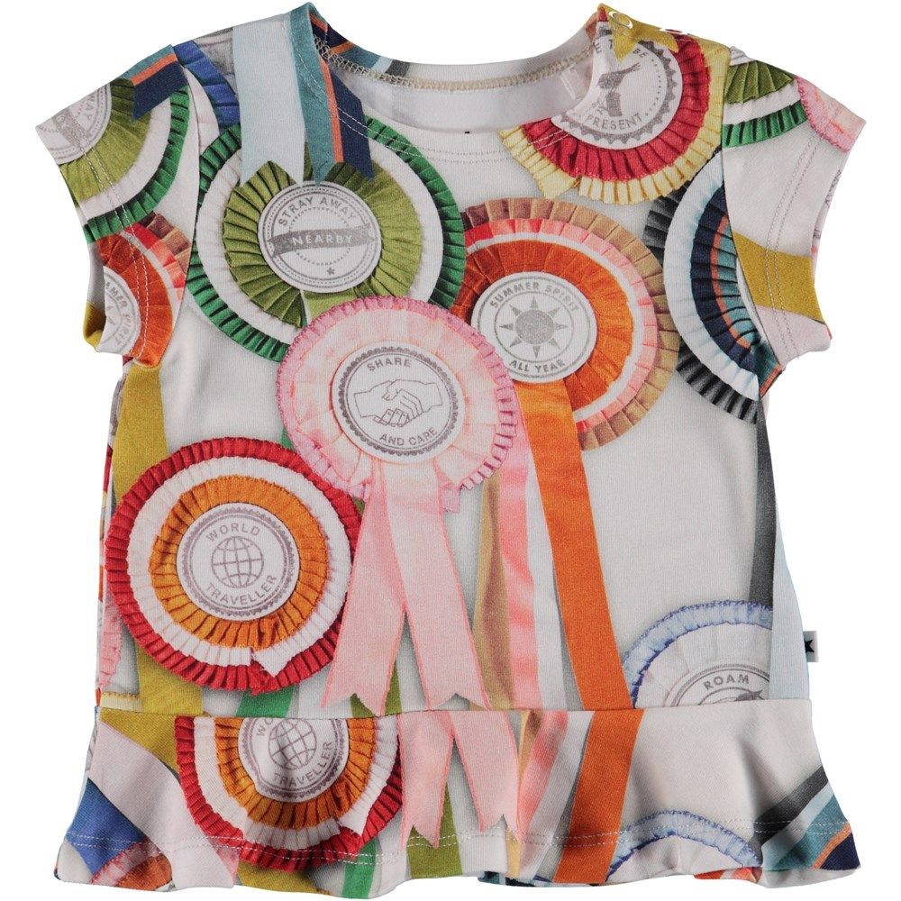 Ebba - Rosettes - Baby T-Shirt