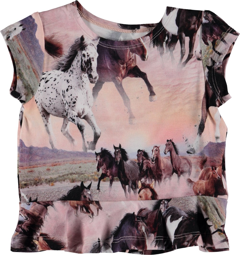 Ebba - Wild Horses - Baby T-Shirt