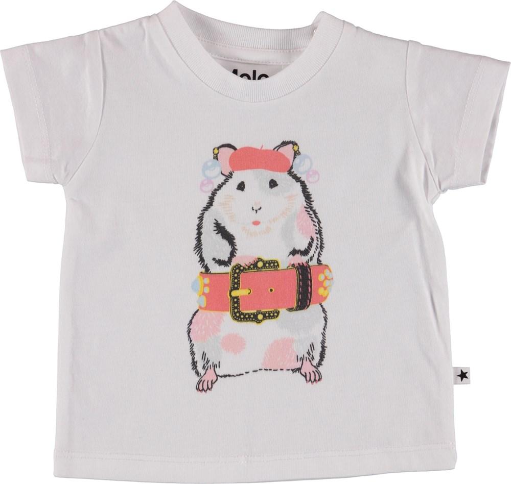 Erica - Dressy Baby Hamster - Baby T-Shirt