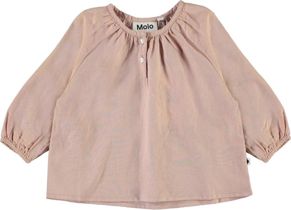 Rosemary - Petal Blush - Rose baby shirt