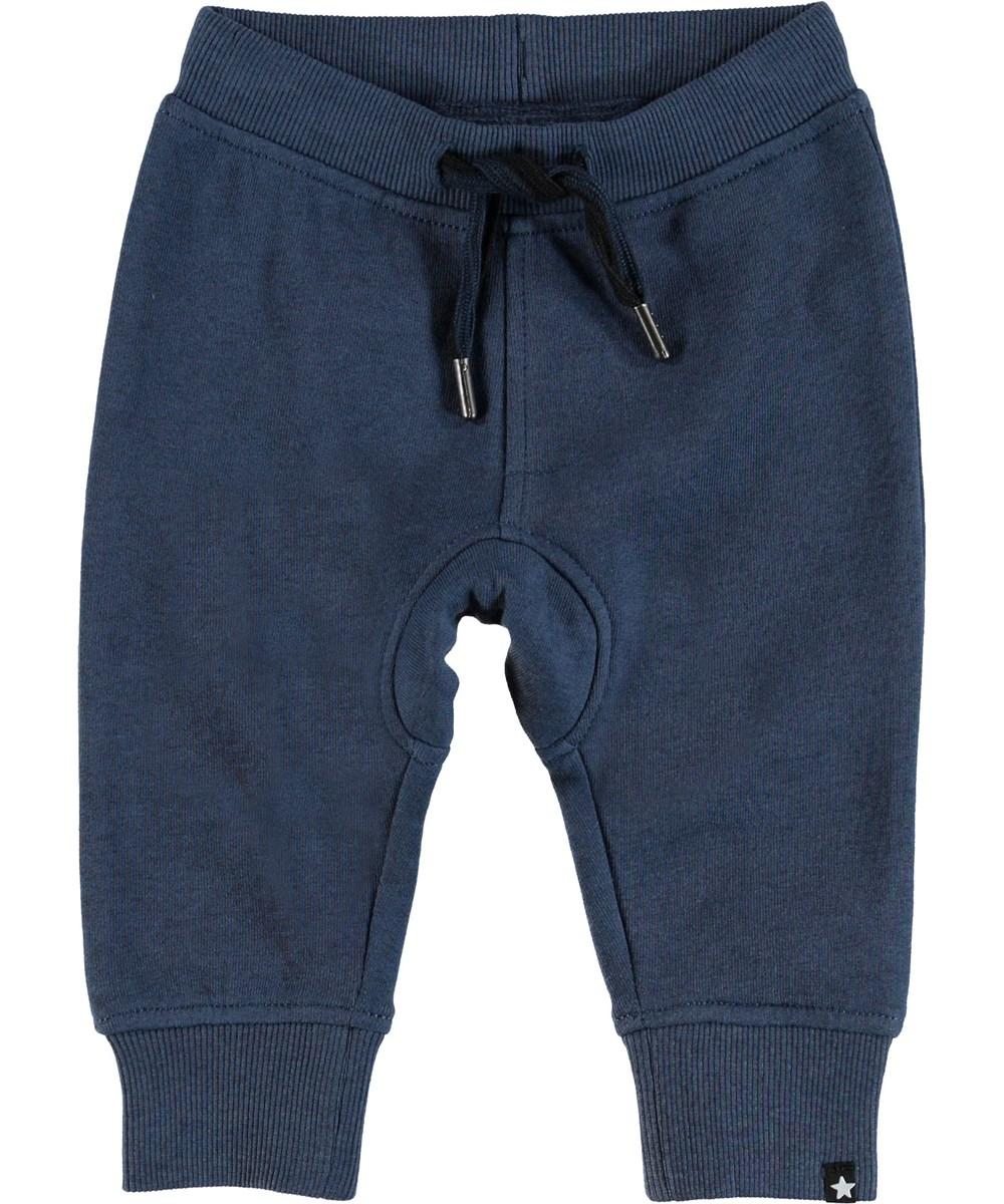 Stan - Infinity - Blauwe baby joggingbroek.