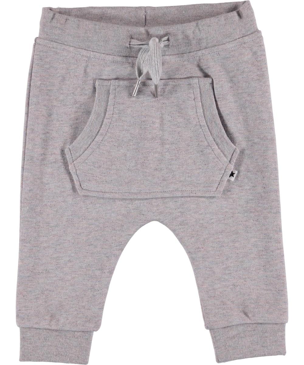 Sandie - Purple Tint Melange - Baby Bukser