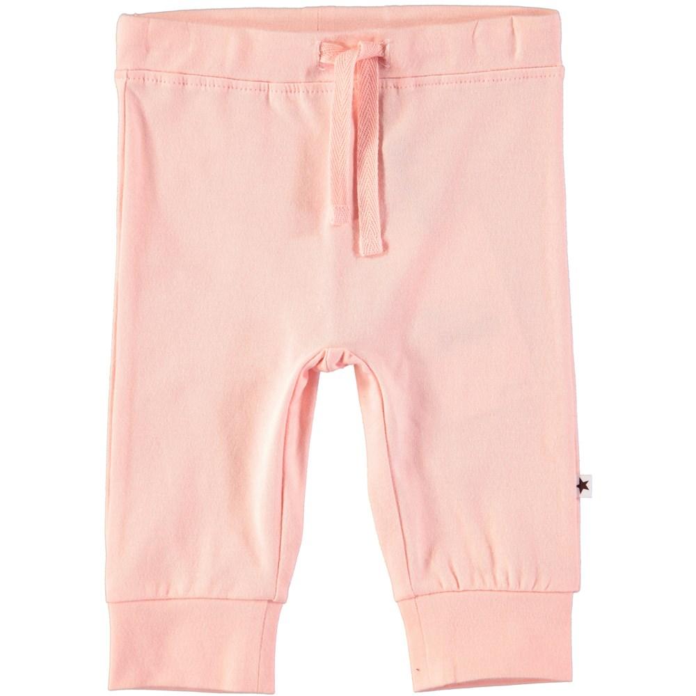 Selena - Dawn - Pudderfarvede baby bukser med snøre