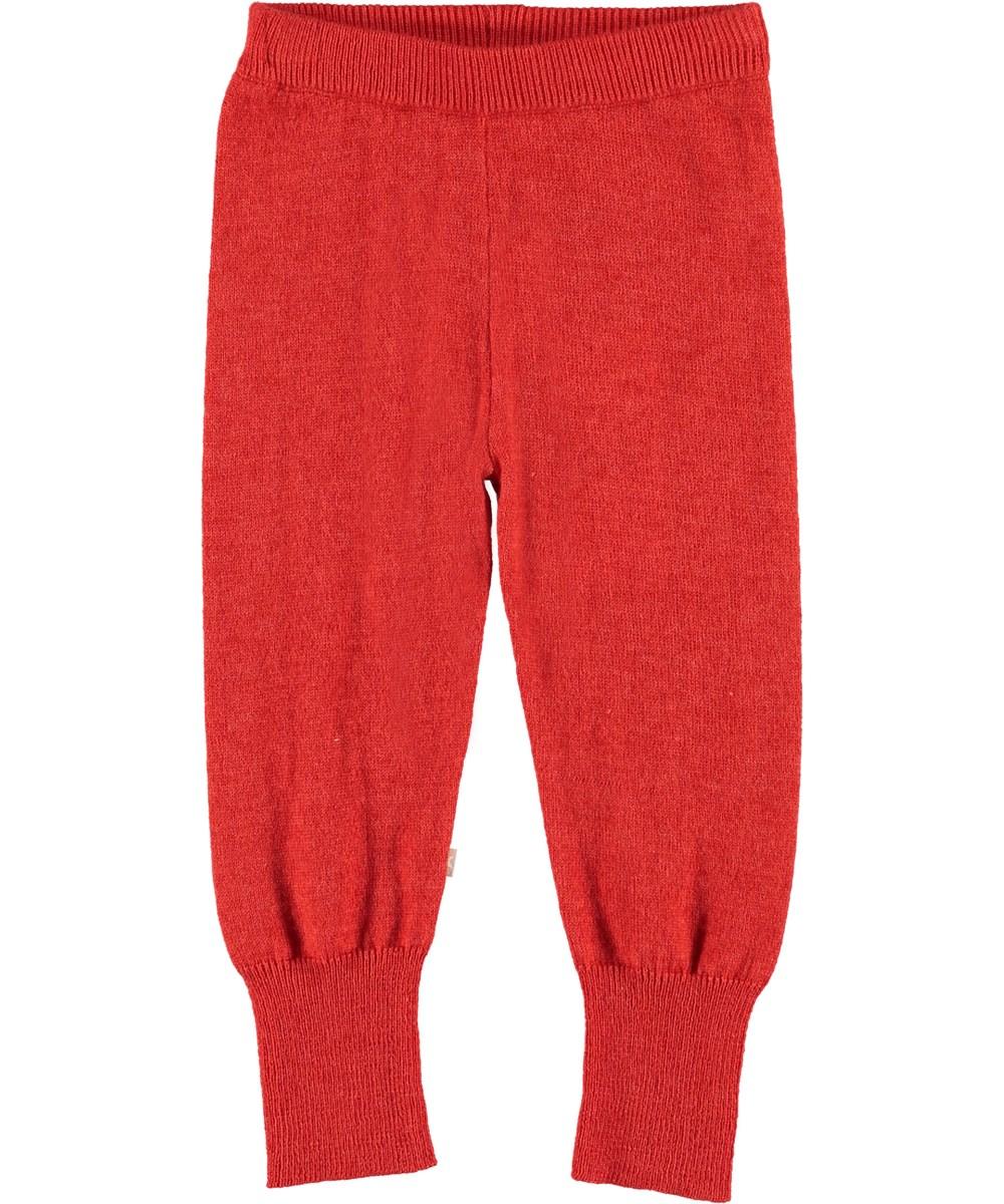 Shade - Vermilion Red - Røde baby bukser.