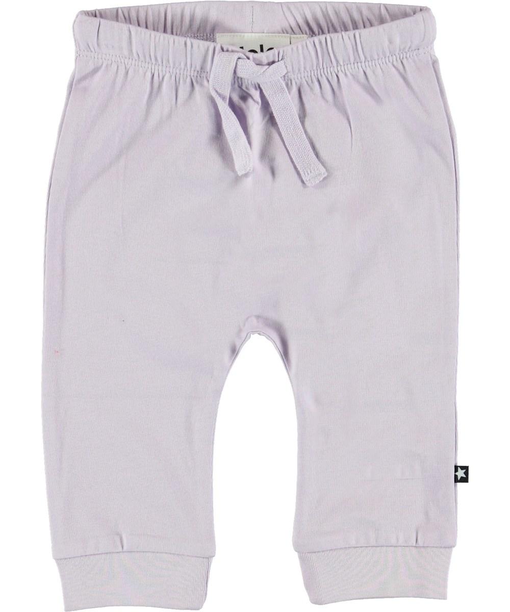 Sille - Frozen Lilac - Lilla baby bukser.