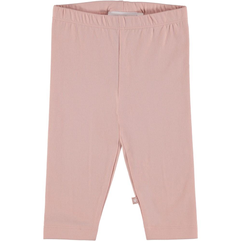 Nette Solid - Cameo Rose - Rosa baby leggins.