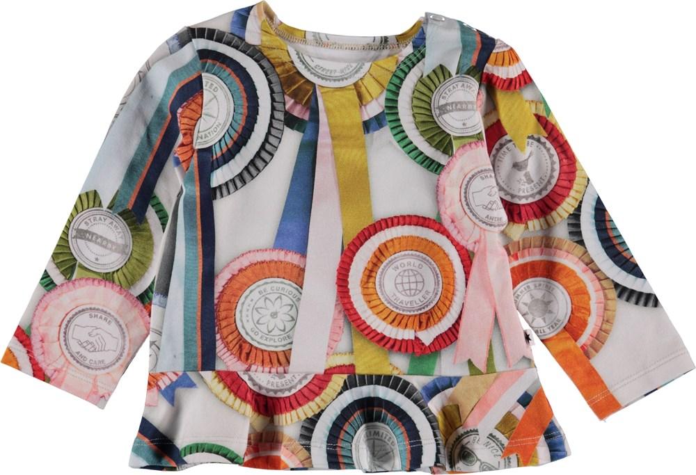 Elisabeth - Rosettes - Baby Bluse