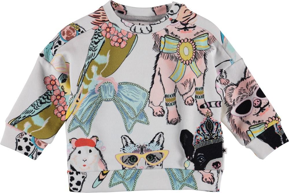 Dana - Dressy Pets - Baby Sweatshirt