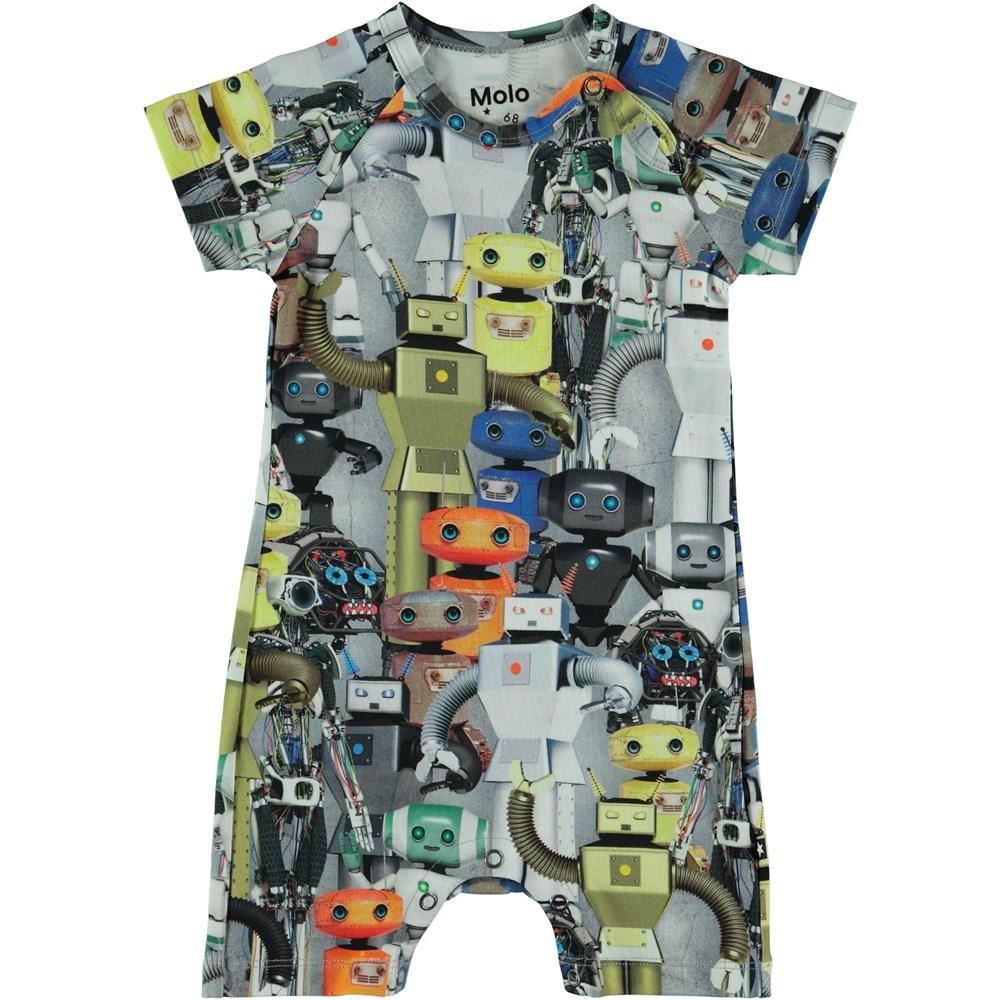 Felton - Robots - Baby body med tryck av robotar.