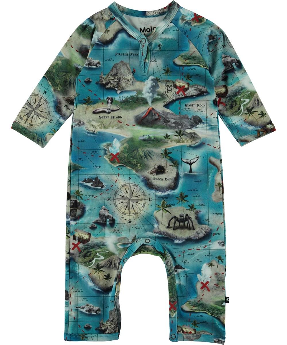 Fleming - Treasure Map - Baby Body