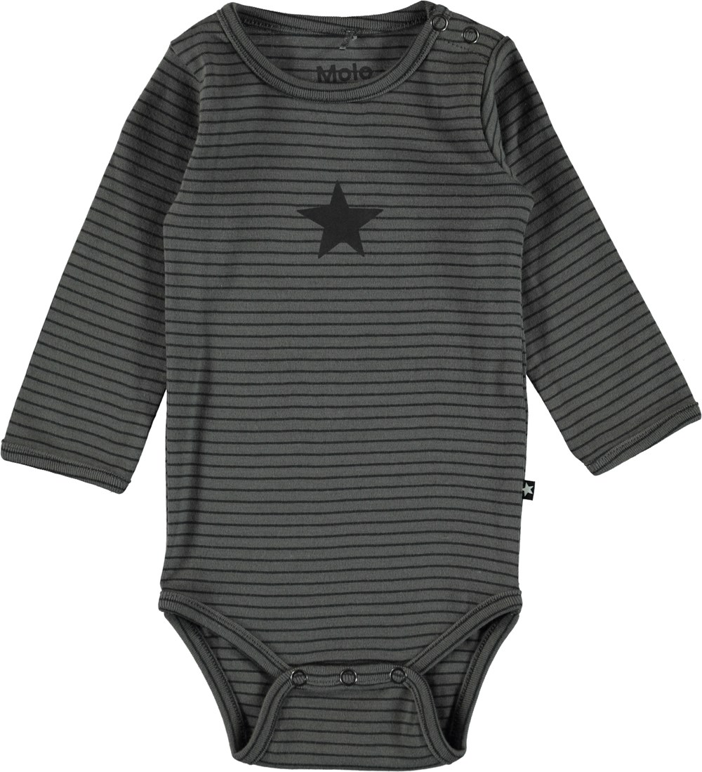 Foss - Pewter Stripe - Ie Baby Body