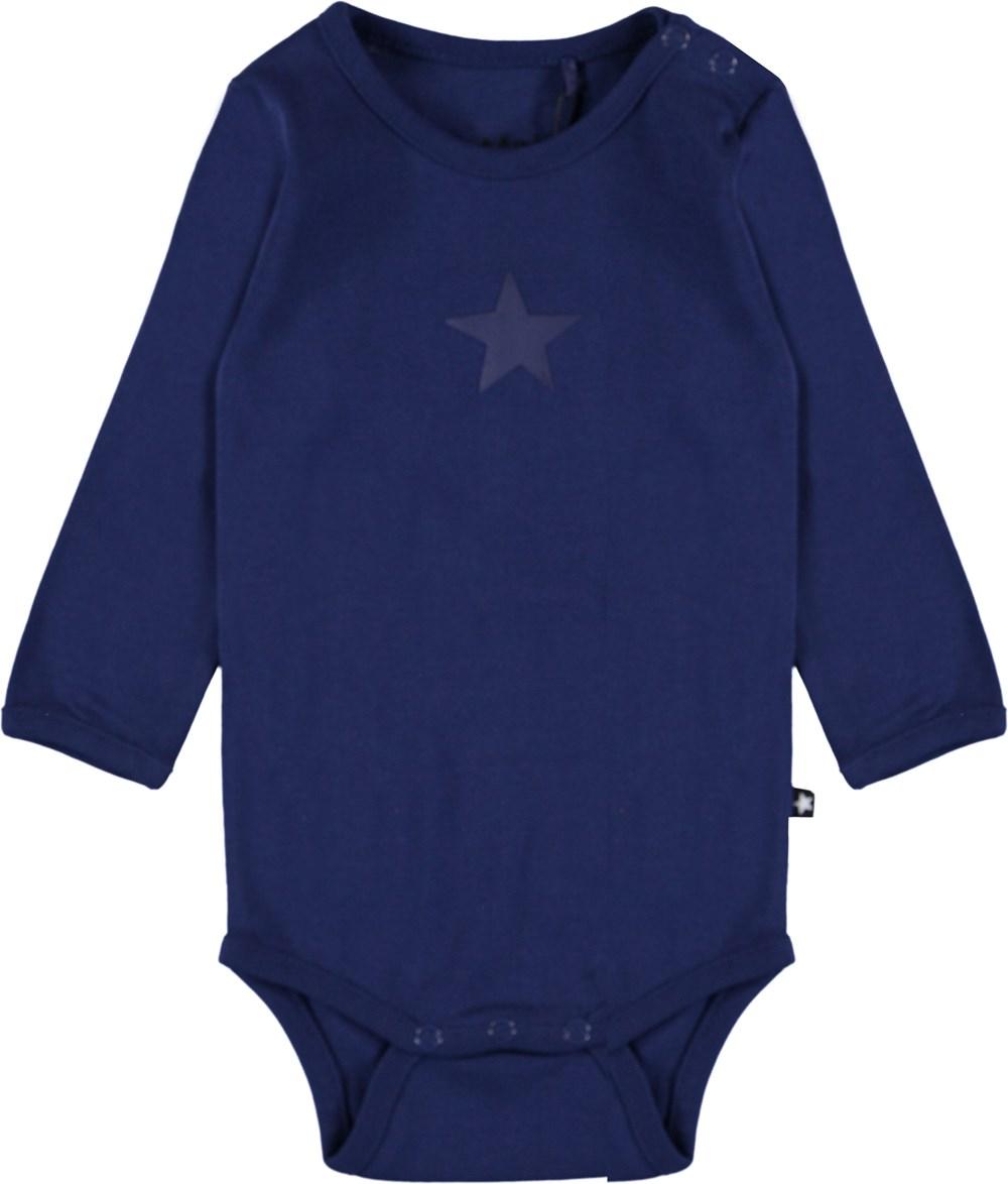 Foss - Sailor - Ekologisk mörkblå baby body